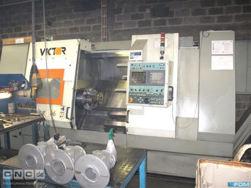 CNC Lathe - Inclined Bed Type VICTOR V-Turn 36