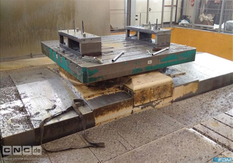 Travelling column milling machine PAMA SPEEDRAM 1000F + TR20