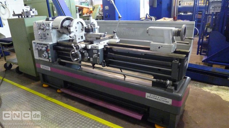 lathe-conventional-electronic OPTIMUM D 460 x 1500