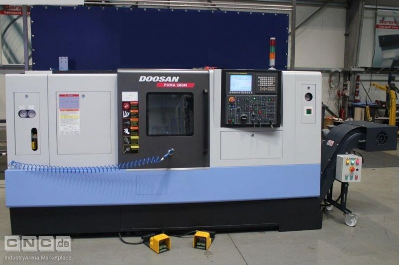 CNC Turning- and Milling Center DOOSAN Puma 280 M