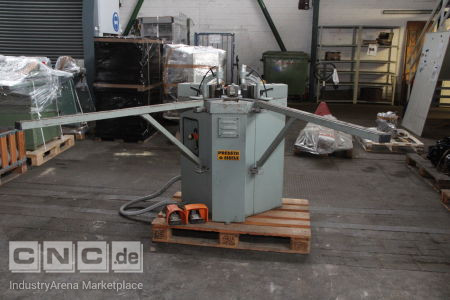 Corner Connection Machine EISELE PV 8