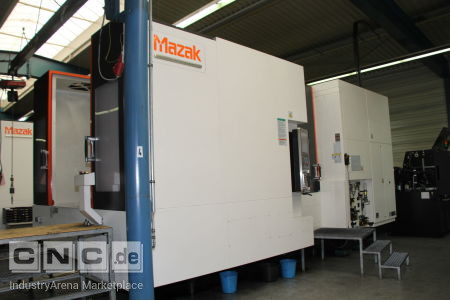 MAZAK HC Nexus 8800 II Horizontal Machining Centre MAZAK HCN 8800 II