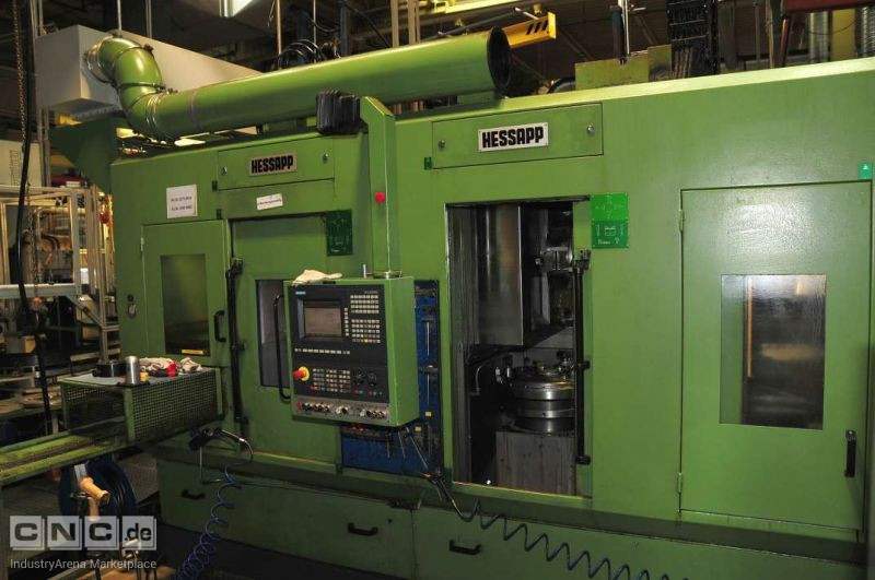 Vertical Turning Machine/Vertikaldrehmaschine HESSAPP DVT 400