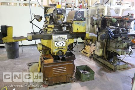 Automatic Cycles Milling Machine AIKARTU FHE 3
