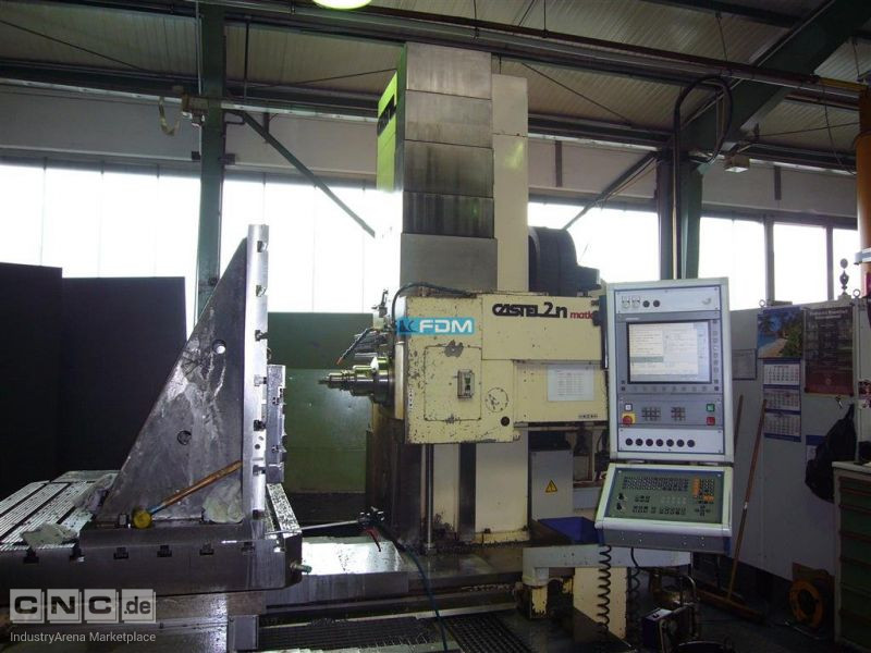 Drilling and Milling M/C CASTEL 2N