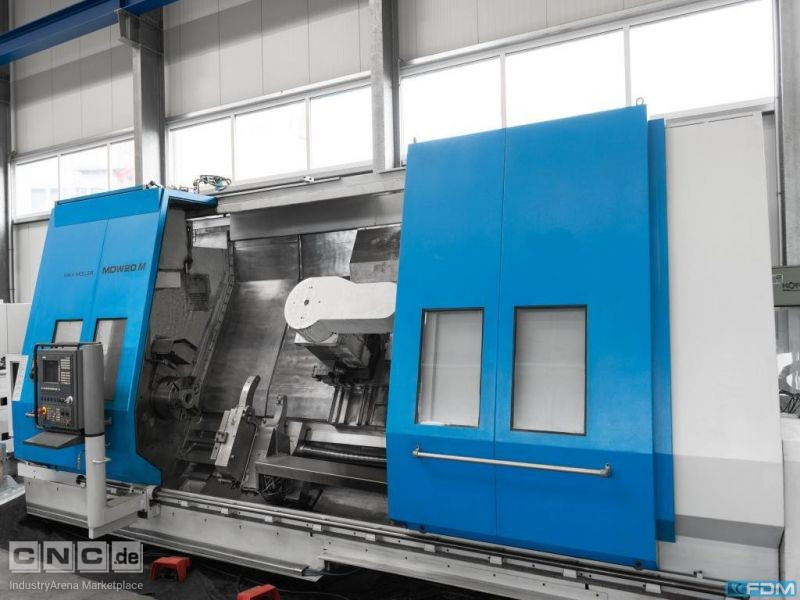 CNC Turning- and Milling Center MAX MÜLLER MDW 20 M x 3000