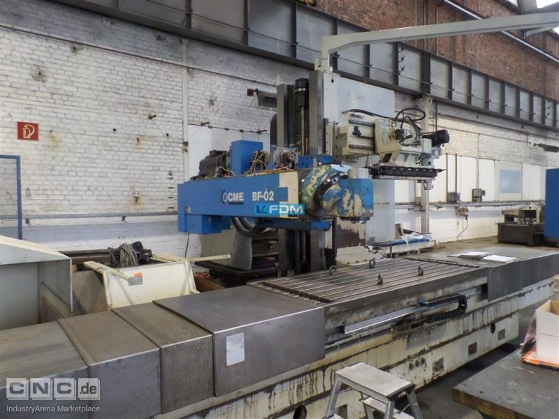 Bed Type Milling Machine - Horizontal CME BF 02