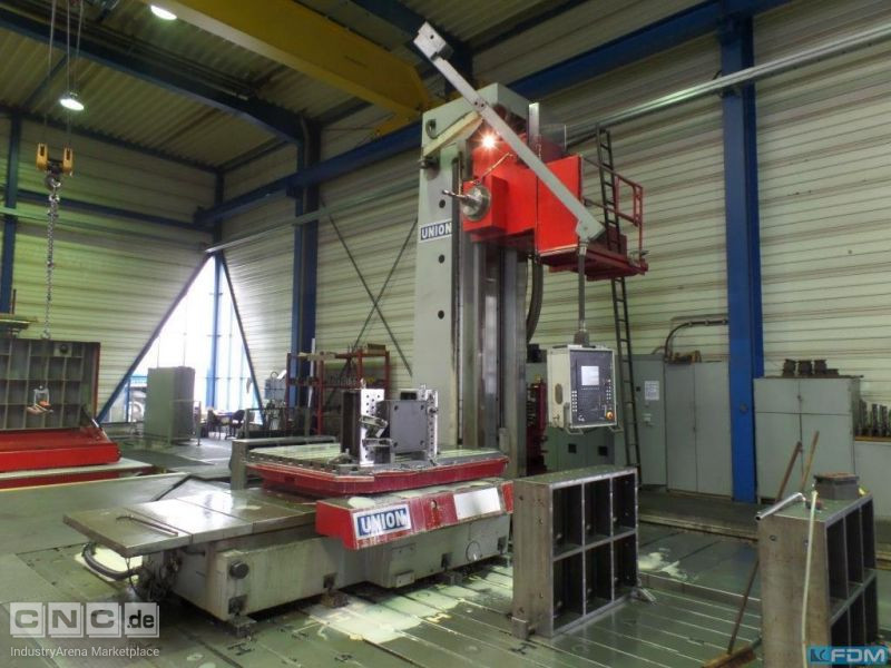Floor Type Boring and Milling M/C - Hor. UNION BFP 130/8