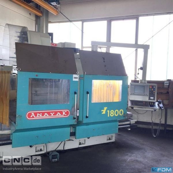 Machining Center - Universal ANAYAK VH 1800