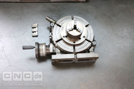 Rotary Table with 3-Jaw Chuck -