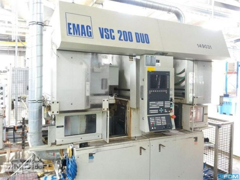 Vertical Turning Machine EMAG VSC 200 Duo