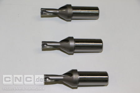 WIDIA Indexable Insert Drills, 3 pcs. WIDIA