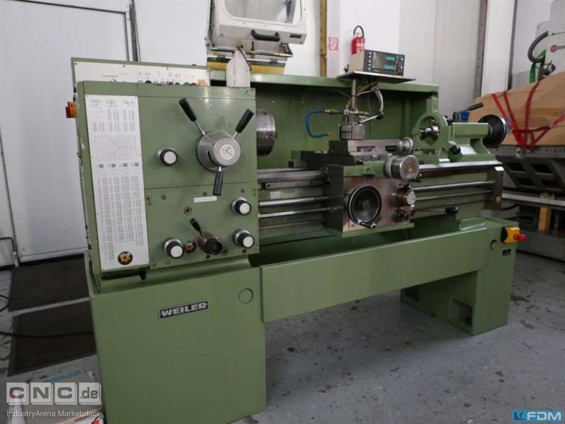 Center Lathe WEILER Commodor 75 /Digital
