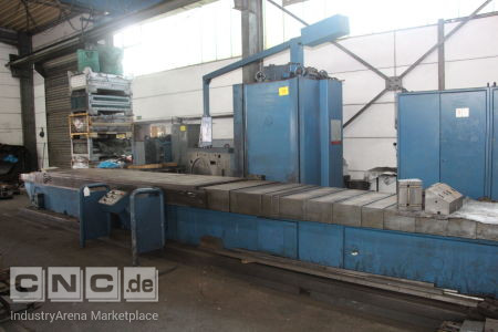 Bed Milling Machine BOEHRINGER FES 31/1250