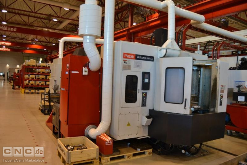 Mazak Variaxis 500 - 5 X Milling machine , Fräsmaschine , freesmachine