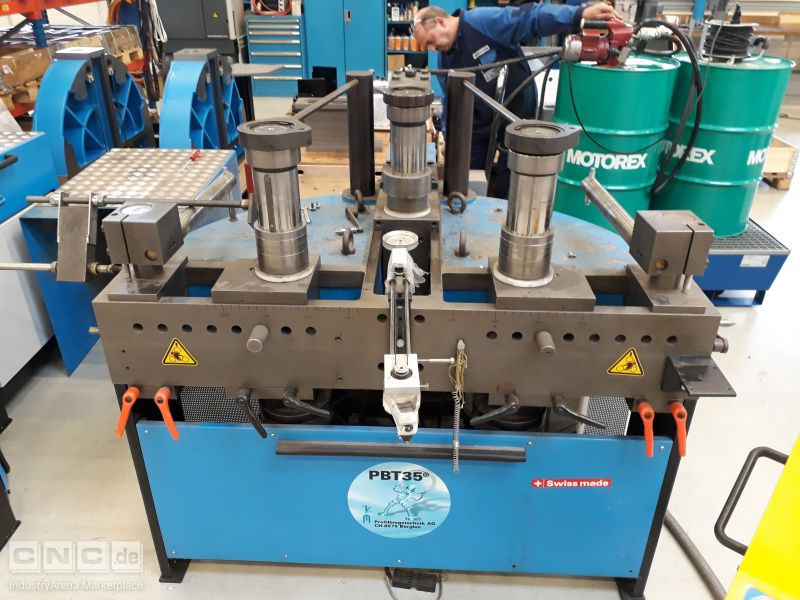 PBT 35 CNC  Profile Bending machine