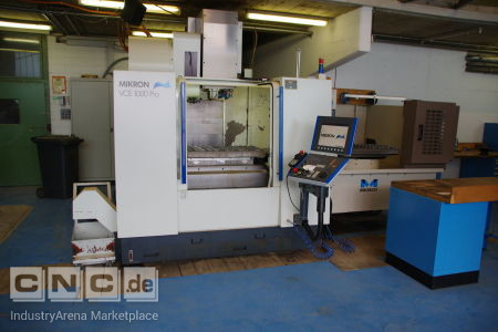Vertical Machining Center MIKRON VCE 1000 Pro