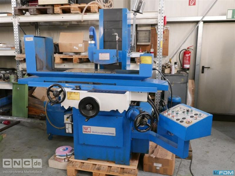 Surface Grinding Machine - Vertical KNUTH HFS 2550