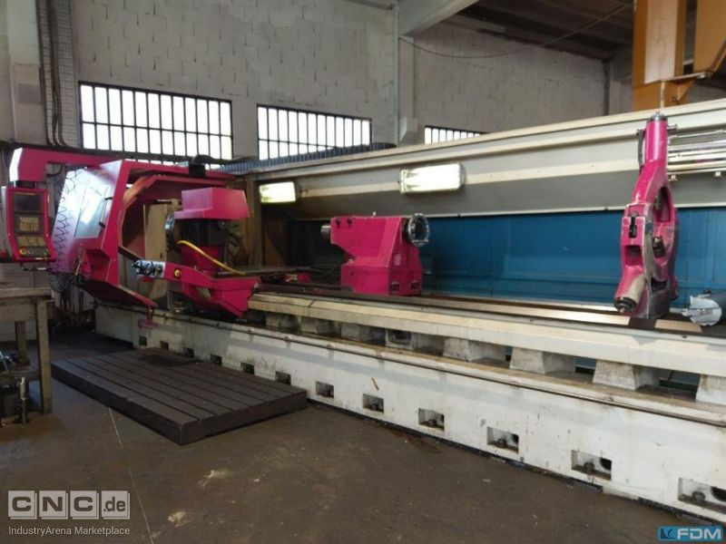 CNC Turning- and Milling Center GEMINIS GHT 5 1000/5000