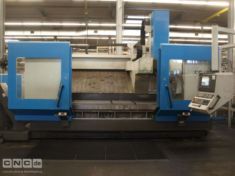 Hedelius BC 60 CNC bed milling machine