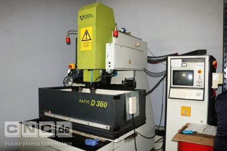 Die Sinking EDM Machine ONA Datic D-360-F