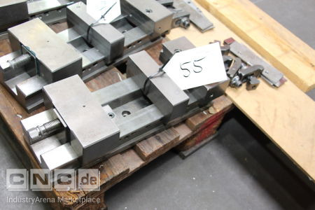 Machine Vice with Accessories -