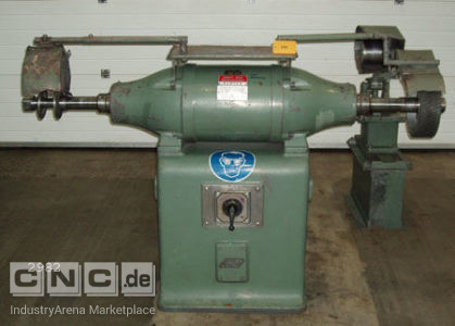 Double-Belt Grinding Machine with Accessories GREIF DV 55