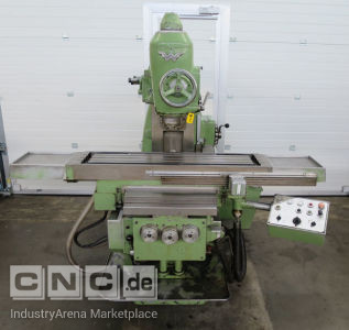 Universal Milling Machine with Accessories WANDERER KF 201