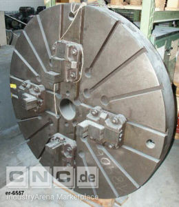 Face Plate with 4 Jaws OERLIKON DM6