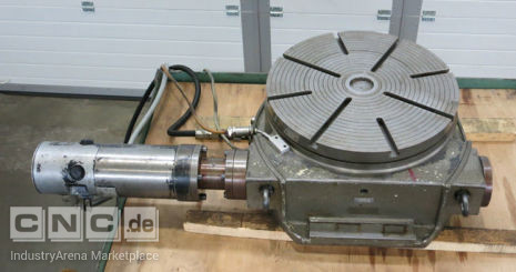 Automatic Rotary Table HAUS 400