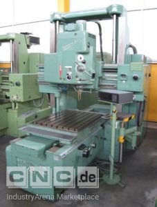 Vertical Jig Boring Machine with Accessories SIP Hydroptic 6A