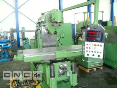 Universal milling machine - control and milling sp CORREA FU15