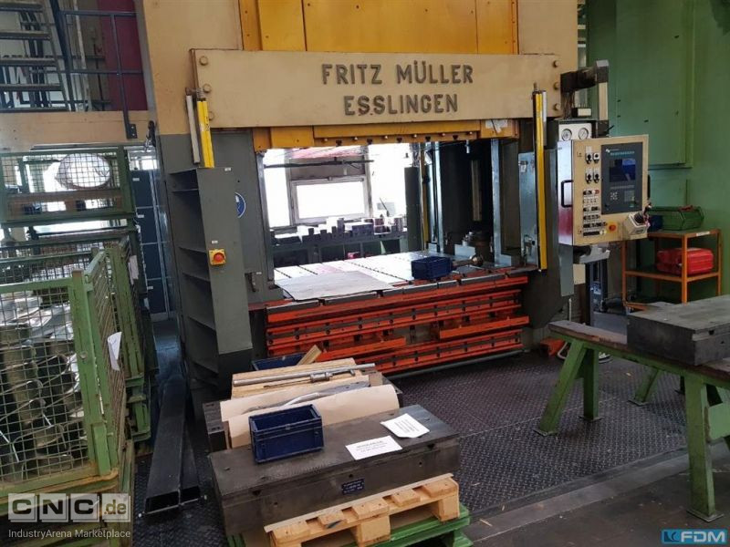 Double Column Drawing Press - Hydraulic MÜLLER WEINGARTEN ZE 600-20.1.2