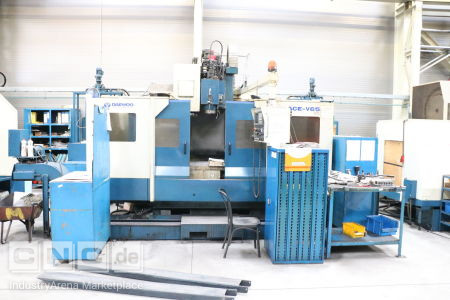 CNC Machining Center DAEWOO V 65