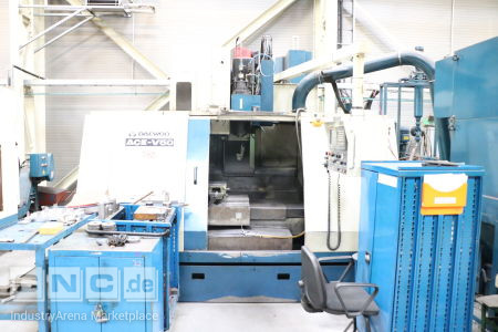 CNC Machining Center DAEWOO ACE-V 50