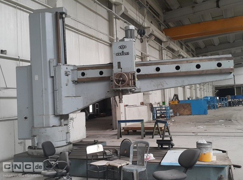 Radial Drilling Machine with 4000 mm arm