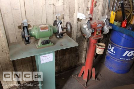 Lot of Bench Grinders -