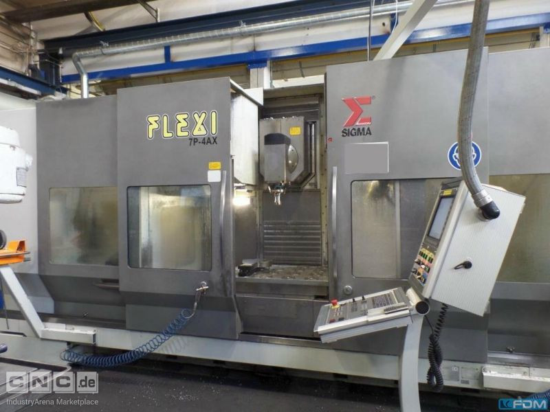Machining Center - Universal SIGMA Flexi 7P-4AX