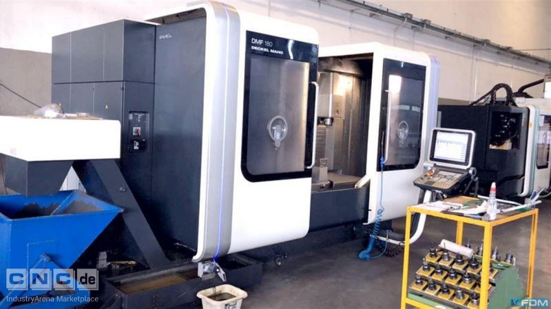 Machining Center - Universal DECKEL DMF 180