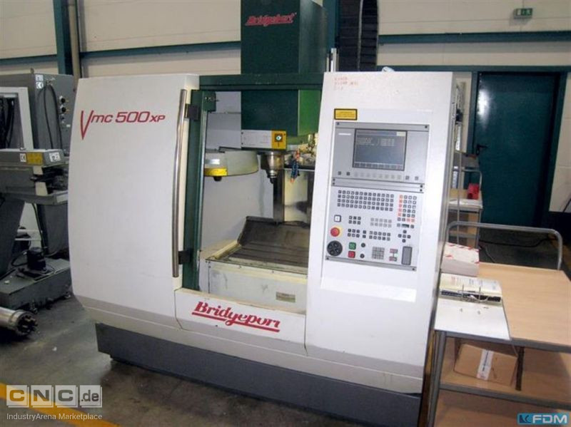 Machining Center - Vertical BRIDGEPORT VMC 500 XP