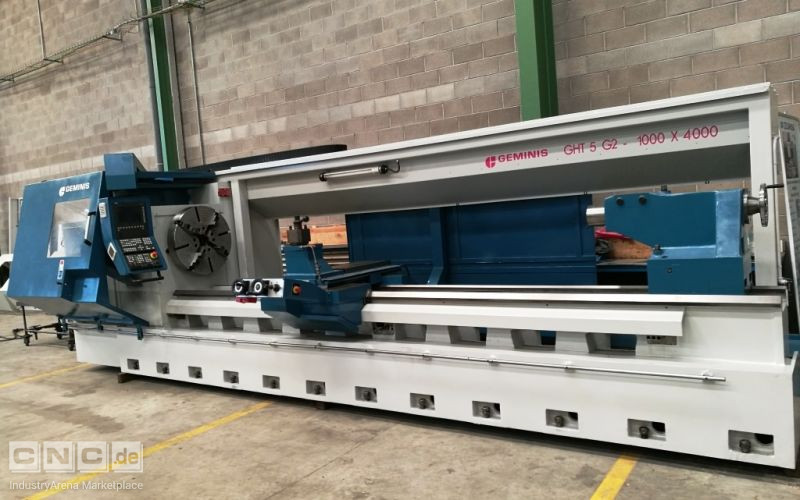 Torno CNC GEMINIS GHT5 G2