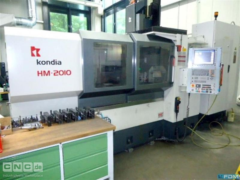 Portal - Machining Center KONDIA HM 2010