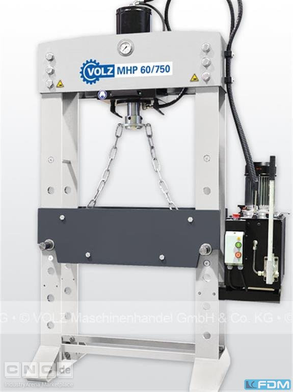 Tryout Press - hydraulic VOLZ MHP 60/750 V