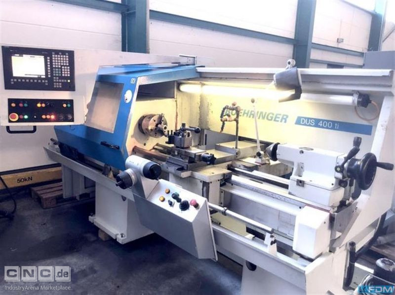 Lathe - cycle controled BOEHRINGER DUS 400 ti