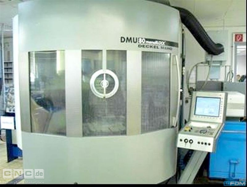 Machining Center - Universal DECKEL DMU 80 monoBLOCK