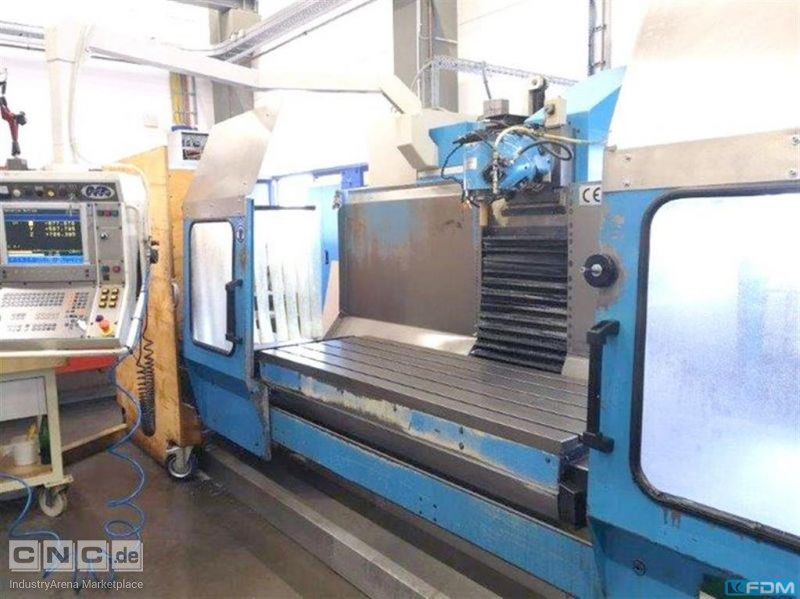 Bed Type Milling Machine - Universal MTE KOMPAKT PLUS