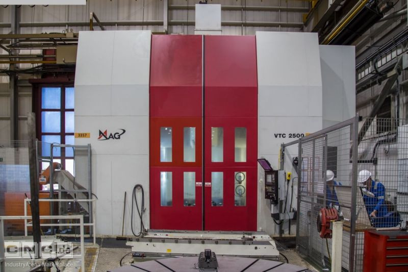 MAG VTC 2500 Twin Pallet
