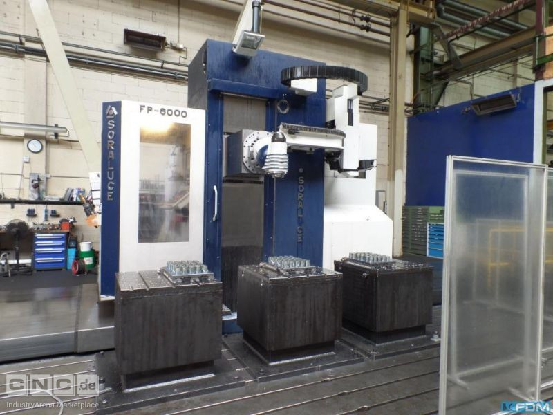 Travelling column milling machine SORALUCE FP 6000