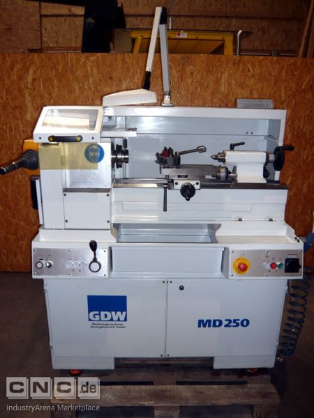 Mechaniker-Drehbank GDW MD 250
