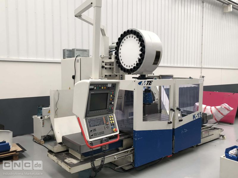 MTE  K15 Bed Type Milling Machine